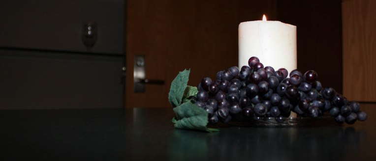 Candle and Grapes 4551983052