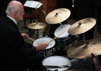 Jazz band drummer 4551982658